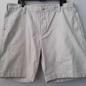 Nautica | Men's Light Khaki Shorts | Waist: 40